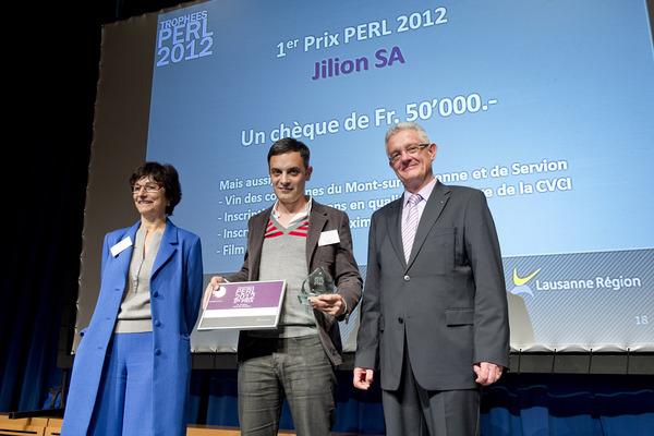 1er prix - Jilion SA