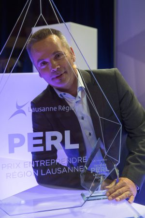 Philippe Held (DermoSafe) remporte le trophee Perl 2016